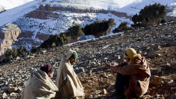 Atlas: froid, pauvreté et enclavement